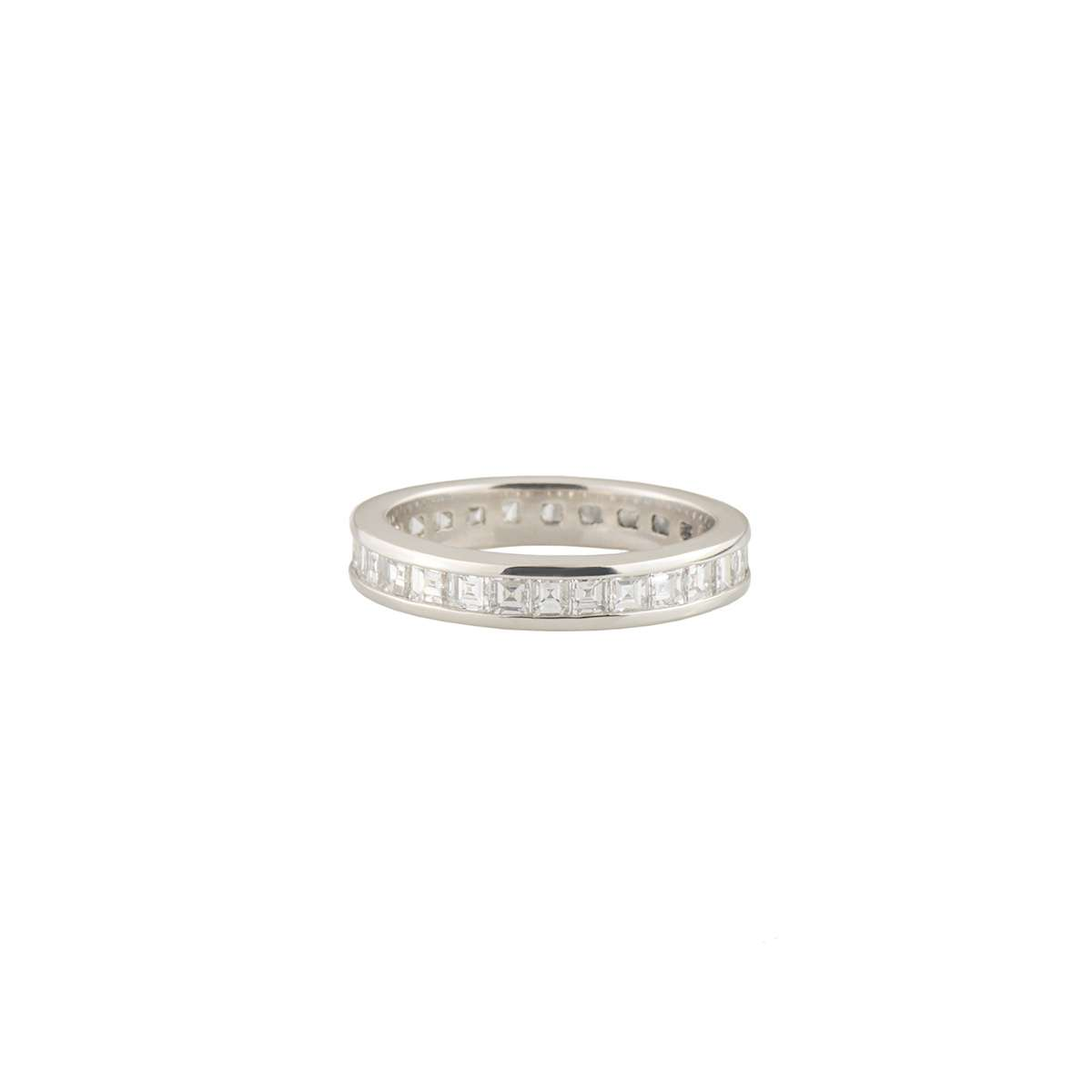 Platinum Diamond Eternity Ring 1.74ct G+/VS